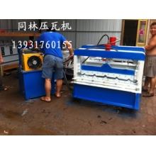 全自动840型琉璃瓦高配液压马达压瓦机现货直销