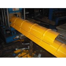 312屋脊瓦设备现货销售  彩钢瓦压瓦机设备厂家