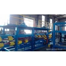 专业生产980型泡沫复合板机设备 岩棉复合板机流水线机器