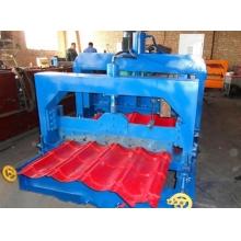 鑫强压瓦机828琉璃瓦机金属成型设备
