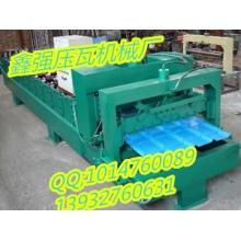 厂家热销 840琉璃瓦压瓦机 屋顶压压瓦机设备 单板自动压瓦机