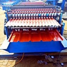 全自动840 850型双层彩钢压瓦机工作原理