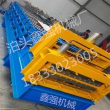 鑫强机械840-900琉璃瓦金属成型设备,一机三用彩钢瓦设备厂家