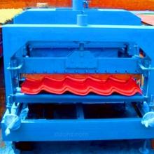 琉璃瓦成型压瓦机