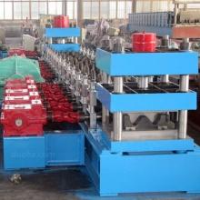 供应全自动彩钢高速护栏成型压瓦机设备,高速生产建筑板设备